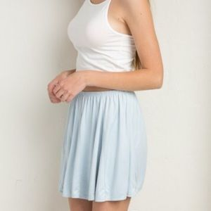 Brandy Melville Riana Skirt / Baby Blue
